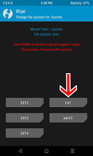 repair Failed To Mount System Infinix NOTE2